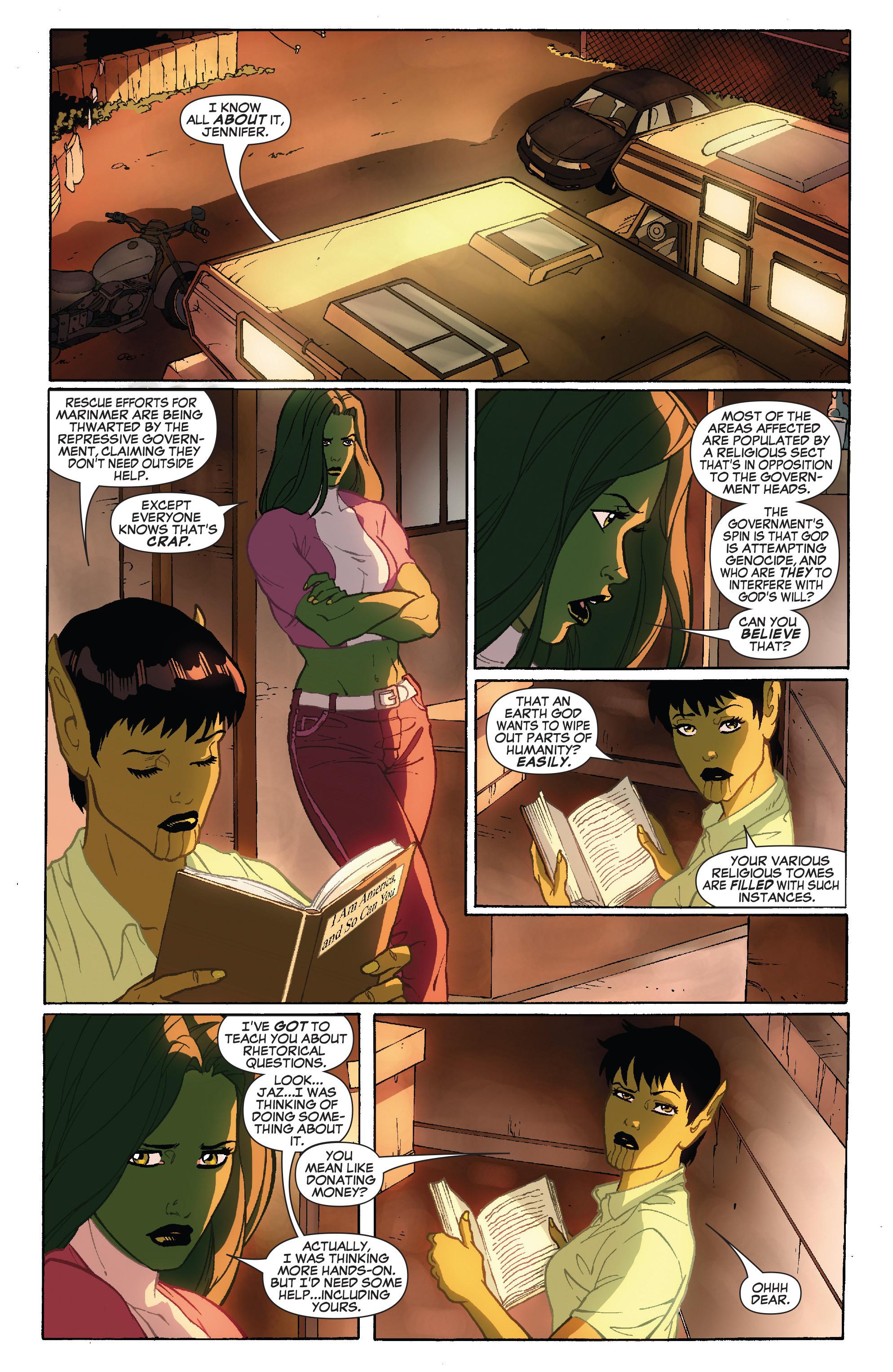 Read online She-Hulk (2005) comic -  Issue #34 - 7