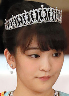 Diamond Tiara Princess Mako Akishino Japan