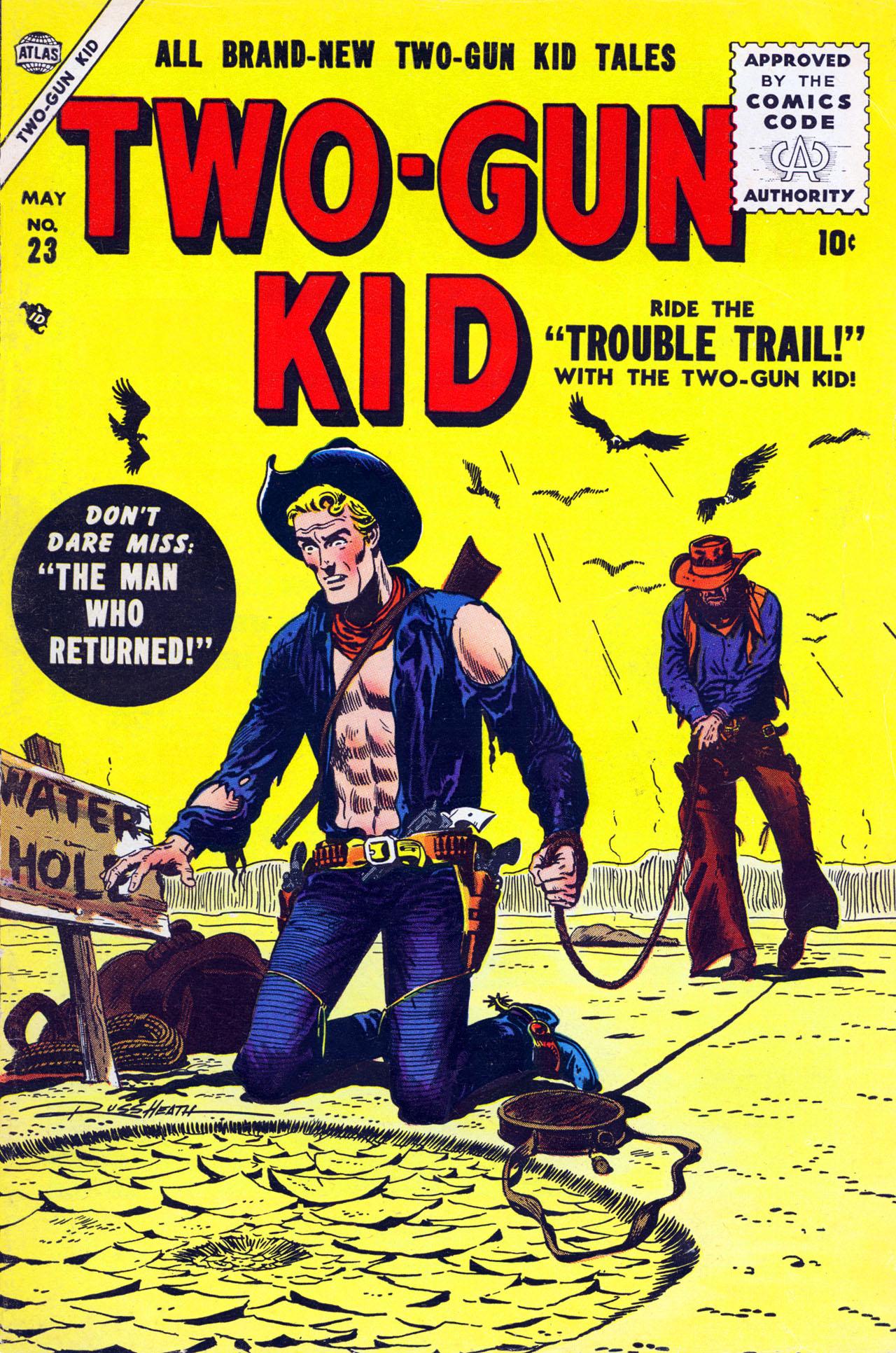 Read online Two-Gun Kid comic -  Issue #23 - 1