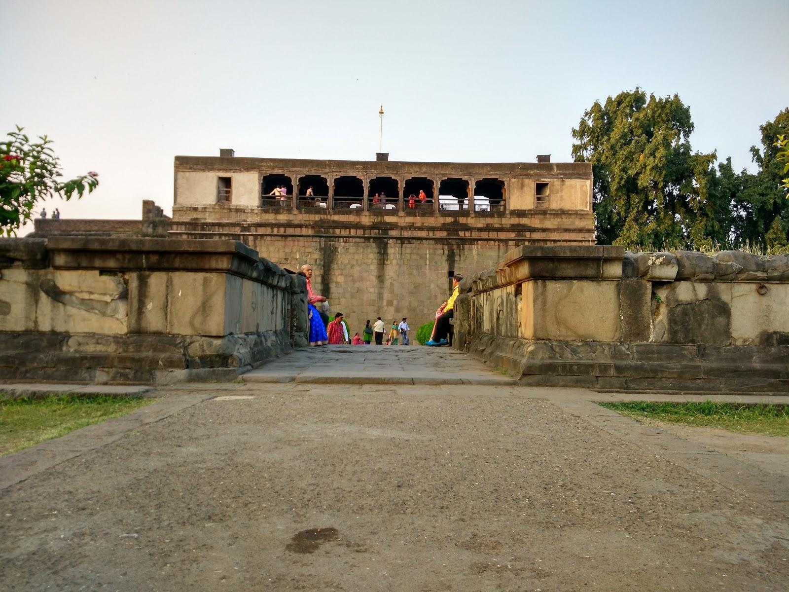 Nagarkhana above Dilli Darwaza at Shaniwar wada fort, Pune