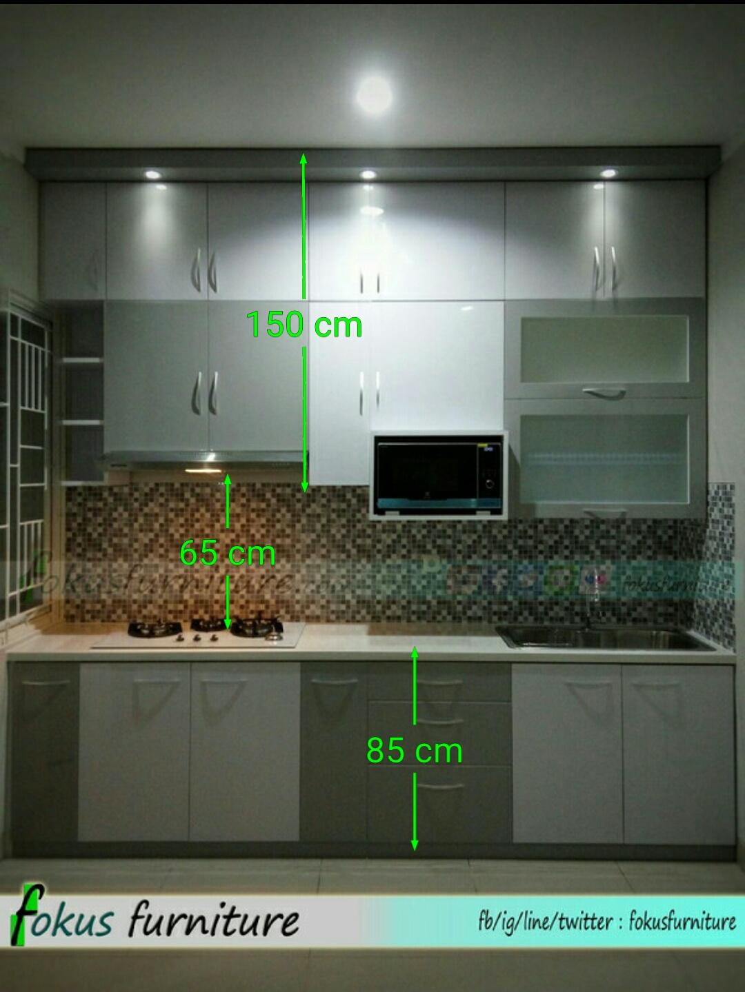 Ukuran Kitchen Set Furniture Kitchen Set Minimalis Lemari Pakaian