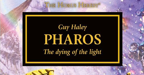 Book Review: Pharos by a Night Lord fan.