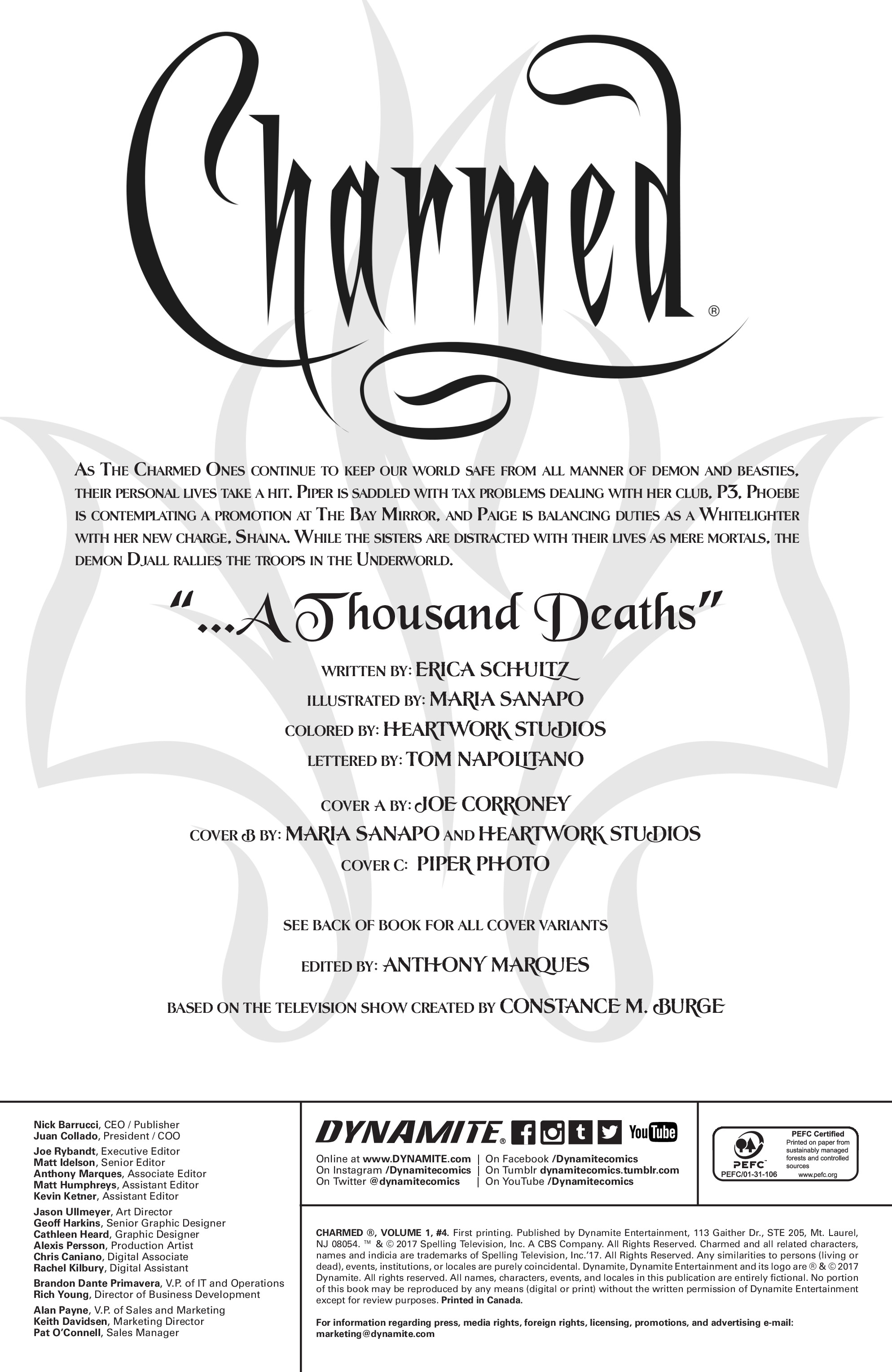 Read online Charmed (2017) comic -  Issue #4 - 4