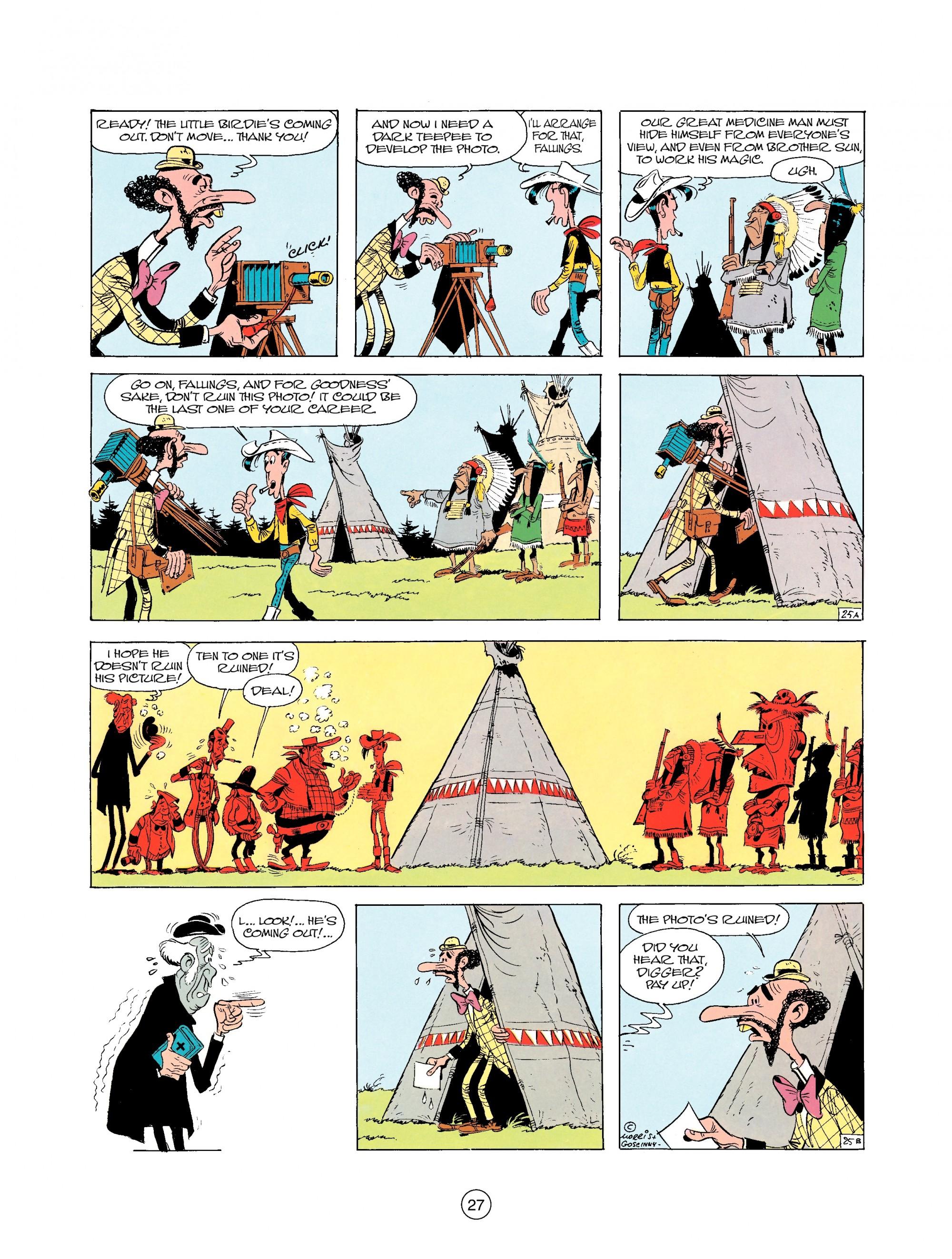 Read online A Lucky Luke Adventure comic -  Issue #25 - 27