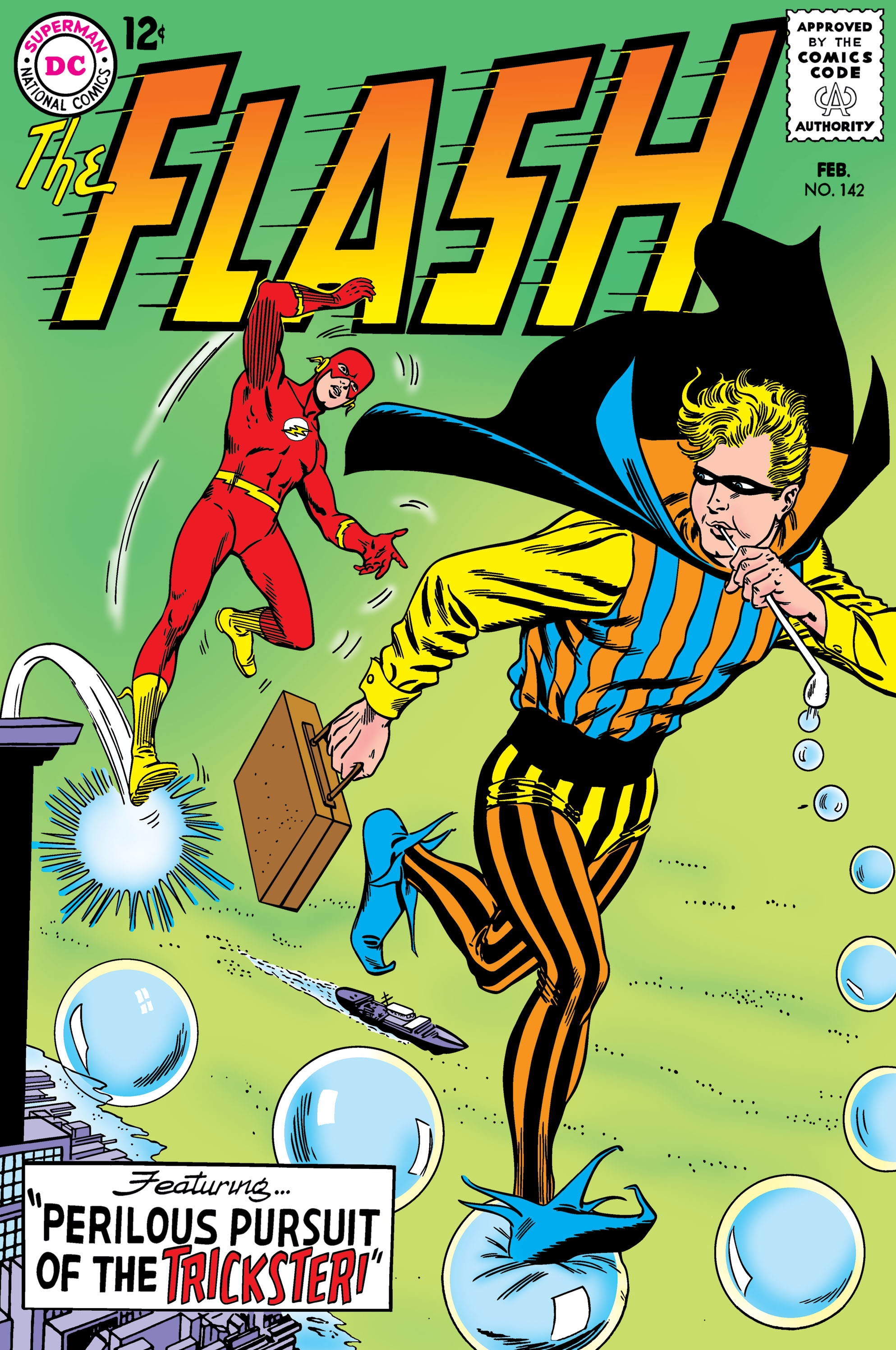 The Flash (1959) 142 Page 1