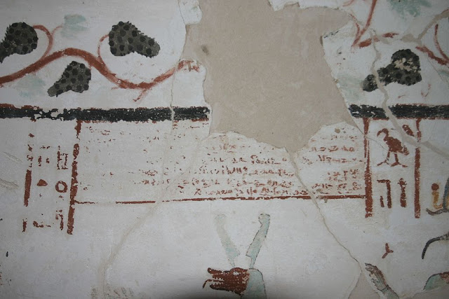 Paintings from the tomb of Sadosiris at Muzawaka (I)