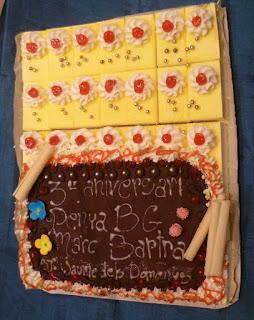 Esguard de Dona - Pastís del 3r Aniversari de la Penya Blaugrana Marc Bartra de Sant Jaume dels Domenys
