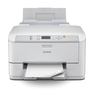 shading inkjet PC printer which gives one-half to a greater extent than affordable per page than focused lasers Epson WorkForce Pro WF-5190DW Driver And Review