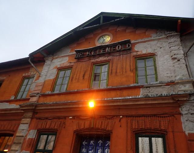 Stacja kolejowa Budapest Kelenfold