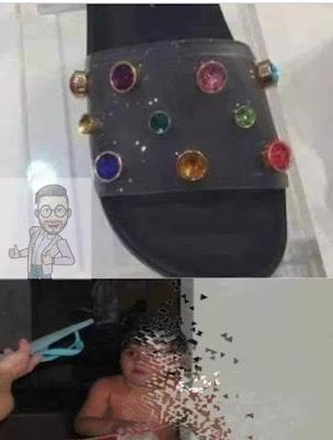 Chinelo do Thanos