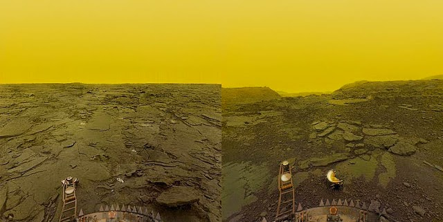 Fotografía de la superficie de Venus, Programa Venera