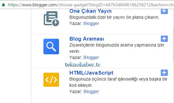 blogger gadgetten adsense reklamı ekleme