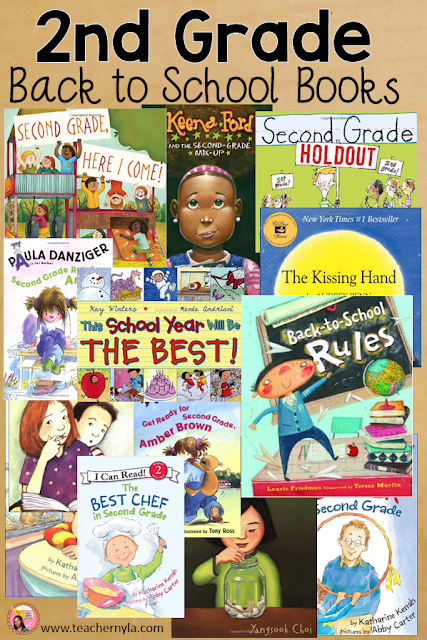 Back to School Picture Books for 2nd Grade