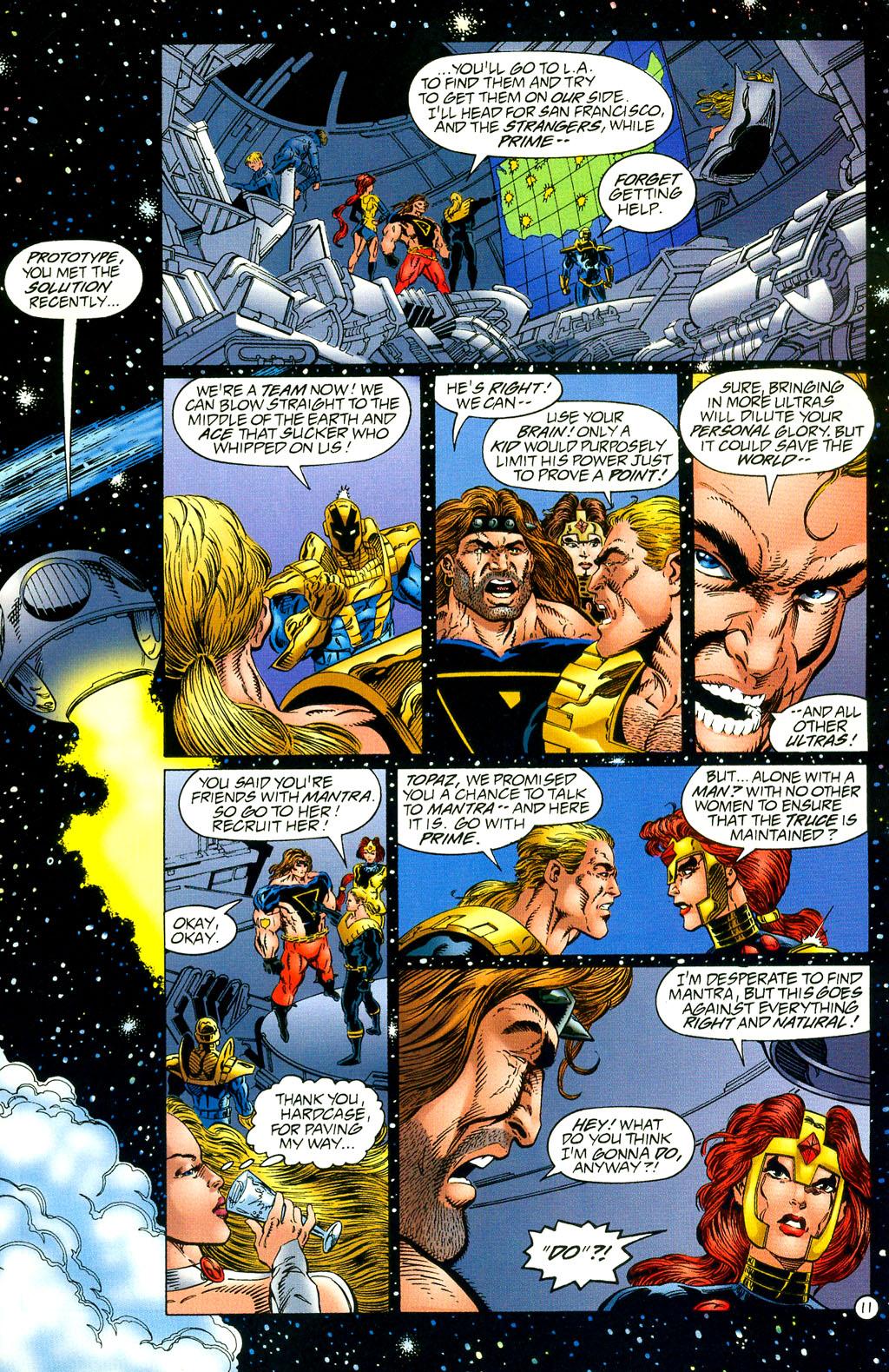 Read online UltraForce (1994) comic -  Issue #2 - 12