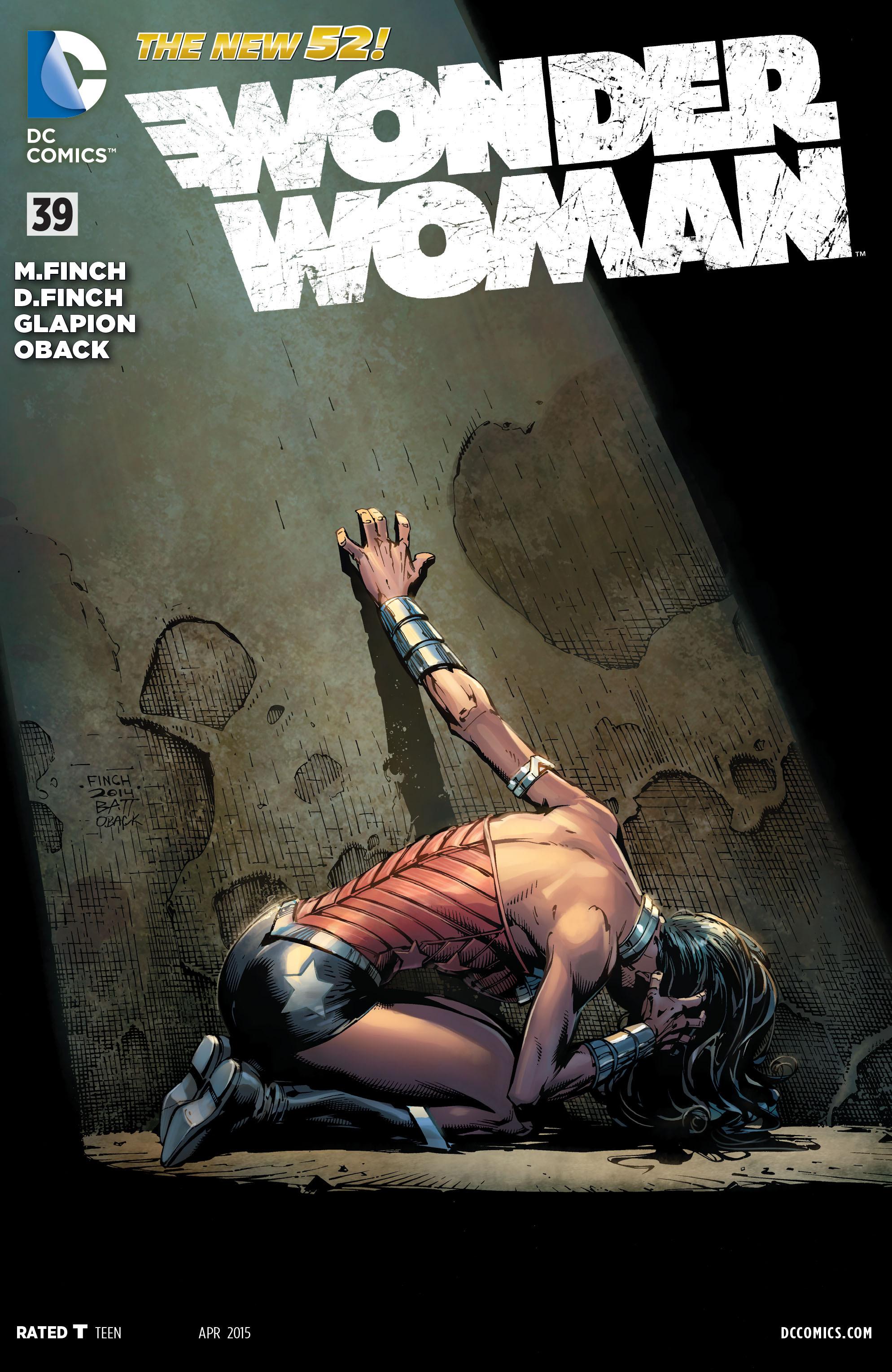 Read online Wonder Woman (2011) comic -  Issue #39 - 1