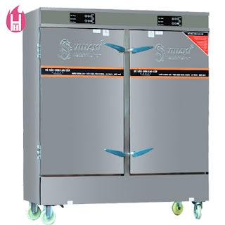 Tủ Nấu Cơm Gas Và Điện có Bảng Điều Khiển cảm ứng 24 Khay –TC24K-GĐB
