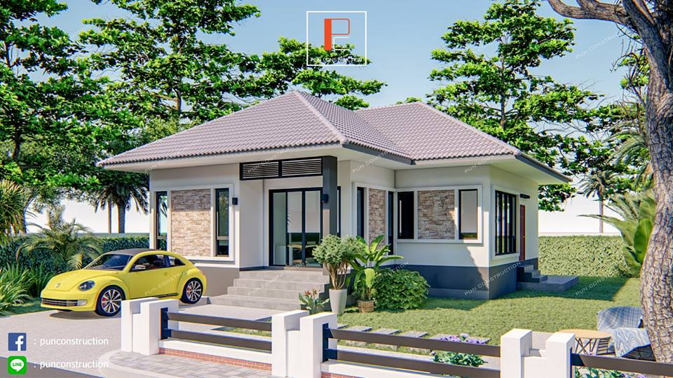 Bungalow houses are known to have the following characteristics; low-rise, detached and cost-effective!  If you are looking for a new house, consider discussing a modern bungalow with your architect. This type of house is perfect for a young couple, families with children or even families living with seniors!  Here are five modern bungalow house designs that are both perfect in rural or urban areas! So if having your own home is your goal this 2019, start scouting for designs that will suit you and your family's needs! You can start with this compilation of modern bungalows house design you may consider as your future dream home!