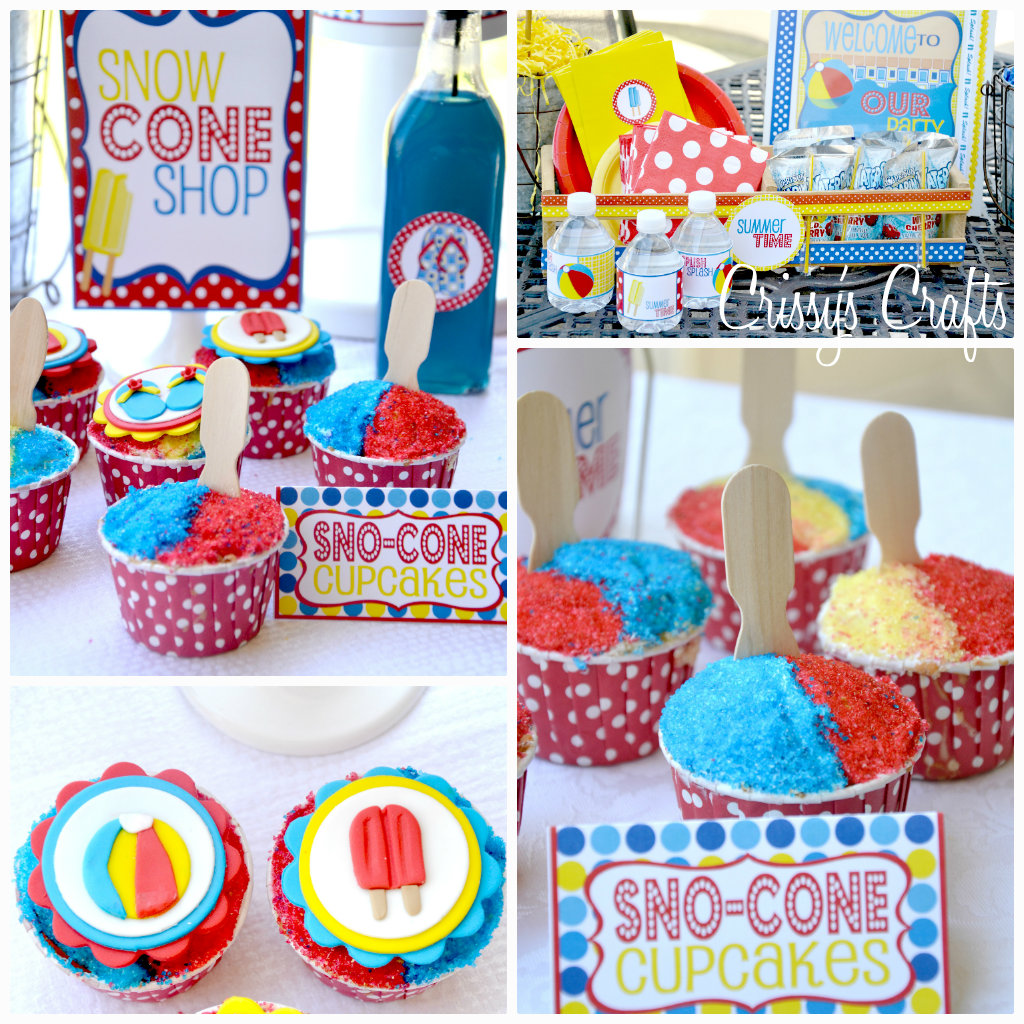 Crissy's Crafts: School's Out SPLISH SPLASH Pool Party