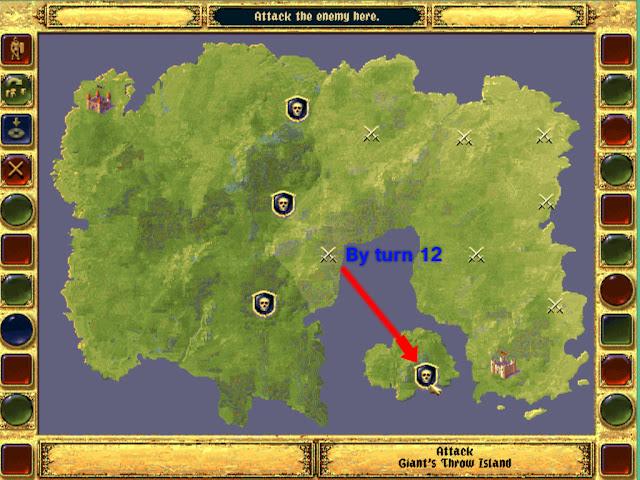 Hidden Ratman Island | Fantasy General Screenshot