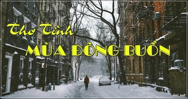 1001 bài thơ tình mùa đông buồn bã, cô đơn, lẻ loi, nhớ người ấy
