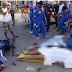 สิบล้อโม่ปูน ชนรถจักรยานยนต์ ถนนสายเอเชีย จ. สงขลา เหยียบทับร่างแม่ลูกดับรวม 3 ศพ ลูกชายอีกคนเจ็บสาหัส