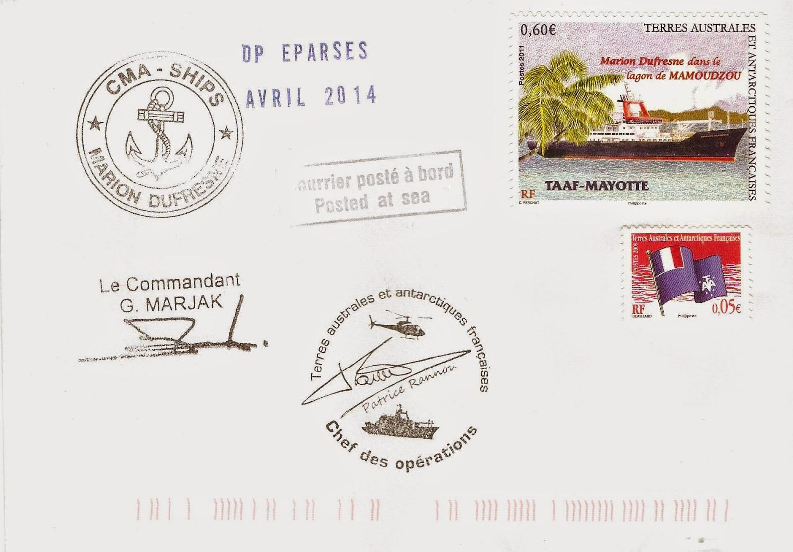 malheureusement ces plis de Mayotte ne comportent pas le timbre à date de  l escale… ed8fa0ca139