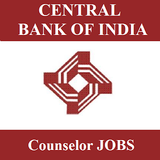 Central Bank of India, Counselor, Bank, Graduation, Maharashtra, freejobalert, Sarkari Naukri, Latest Jobs, central bank of india logo