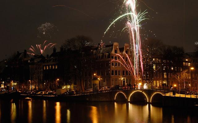 Ano Novo em Amsterdã