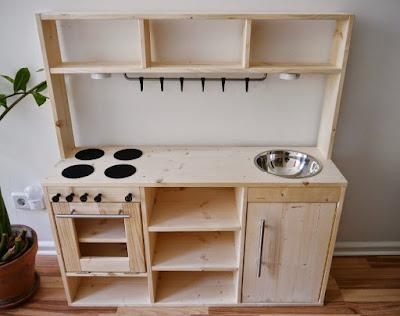 Gebrauchte Kinderküche Holz