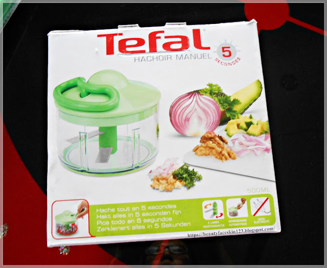 Tefal Hand Manual Meat Grinder Mincer Spice Vegetable Chopper Cutter Baby Food Processor Multifunction Kitchen Tool