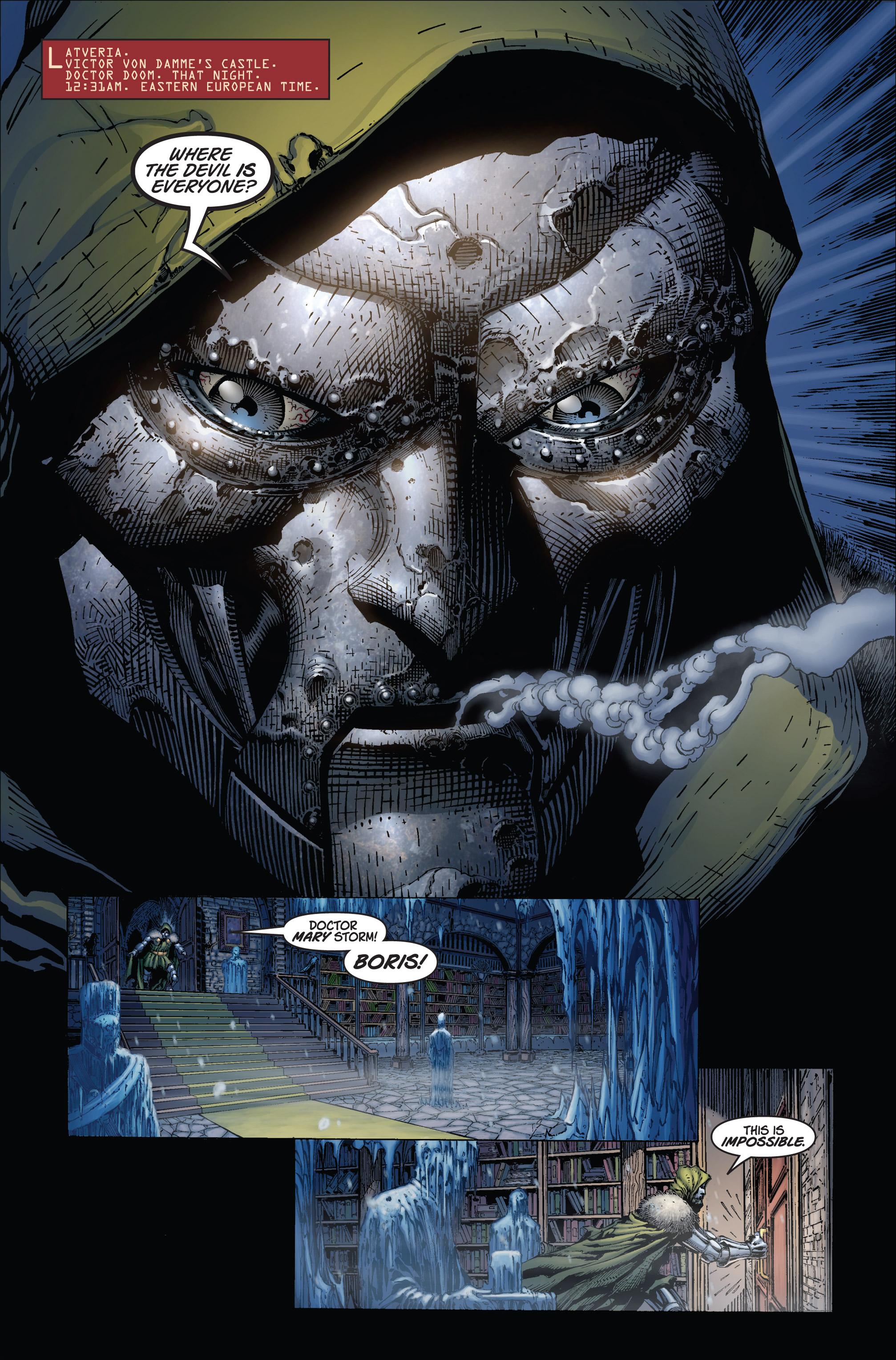 Read online Ultimatum comic -  Issue #1 - 19