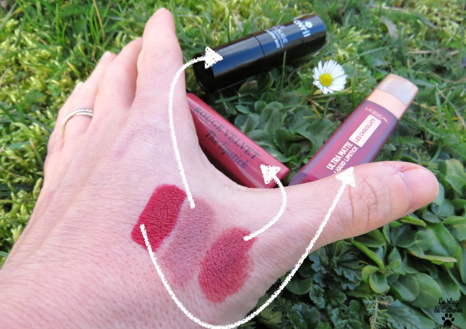 Top 3 rouges à lèvres du moment