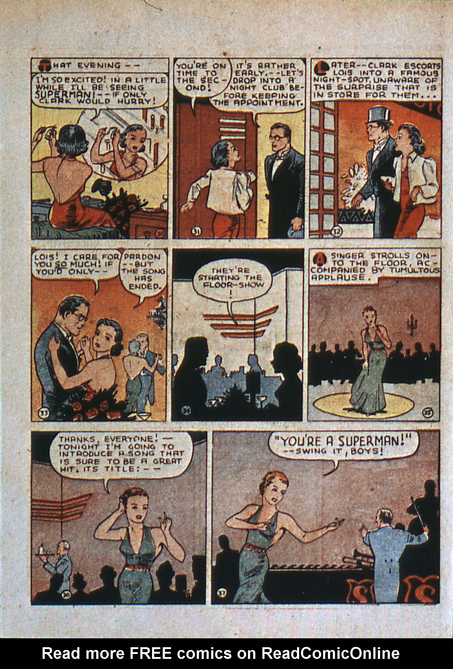 Read online Action Comics (1938) comic -  Issue #6 - 8