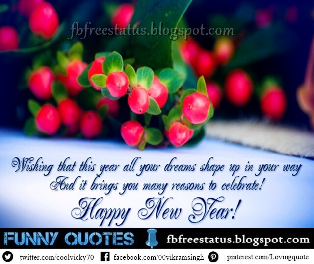 Funny Happy New Year Wishes Quotes: Inspirational New Year 2018 Wishes