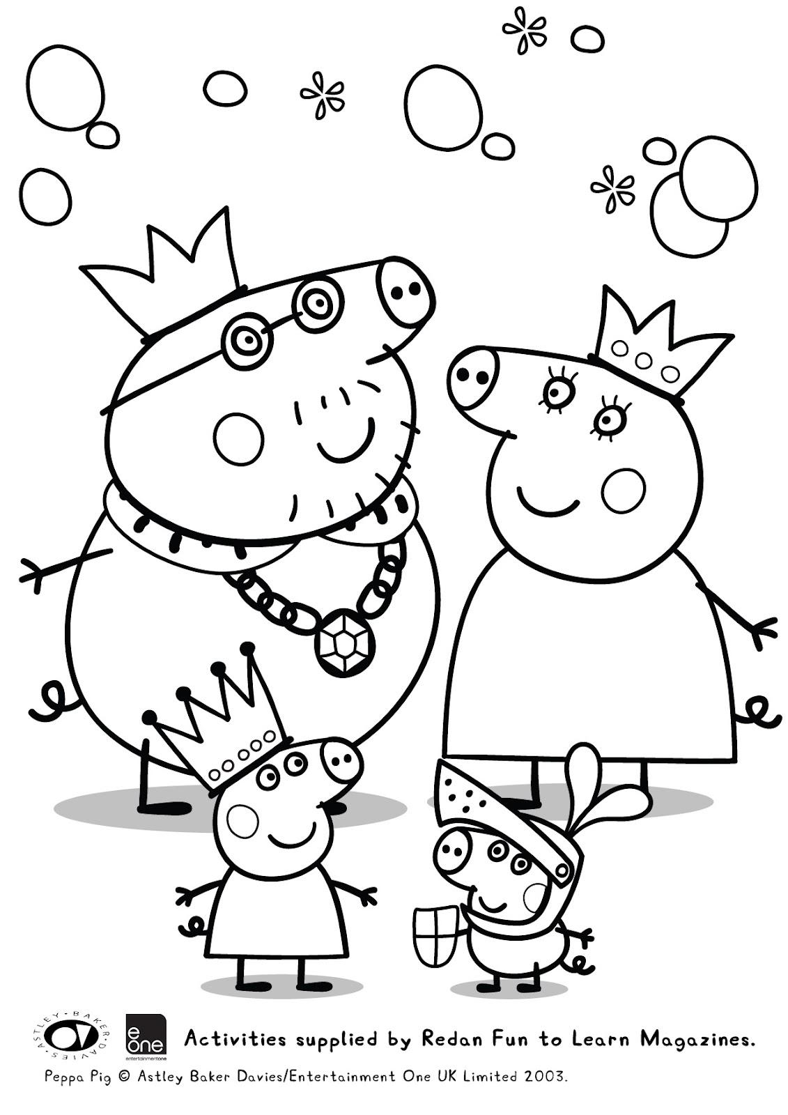Giochi Di Peppa Pig Colorare.Zuppa Ricetta Disegno Di Peppa Pig