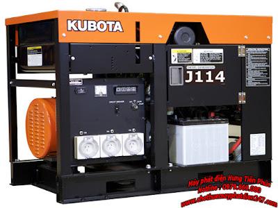 Máy phát điện Kubota 14kva J114