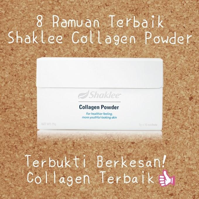 8 Ramuan hebat Collagen Powder Shaklee