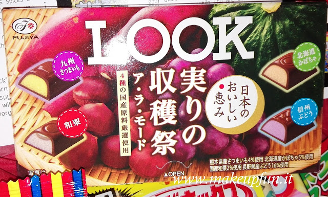 fruit and veggies taste japanese chocolates