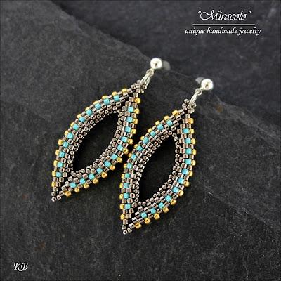 kolczyki wrzeciona, earrings