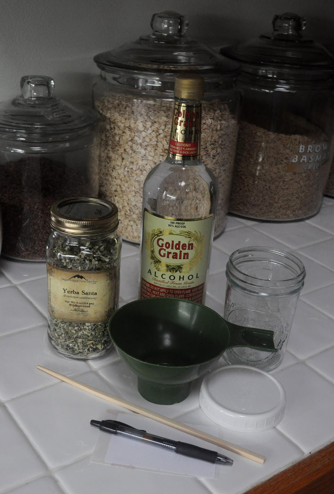 Best alcohol to use for tinctures