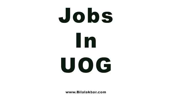 Engineering Jobs In University of Gujrat and Download