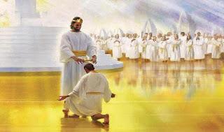 Ta đến vì các con để đưa các con về với Cha Ta. Ta đến để thi hành Thánh Ý của Người và để hoàn tất Giao Ước