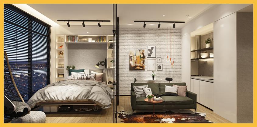 Upper West BSD City - Tipe 2BR - Bedroom