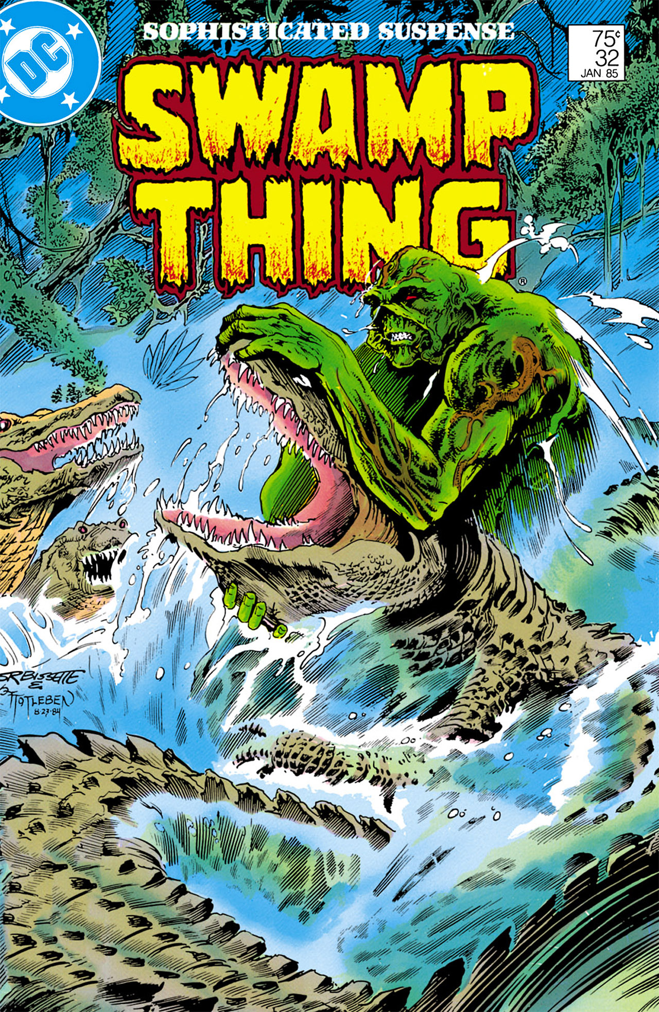 Swamp Thing (1982) Issue #32 #40 - English 1