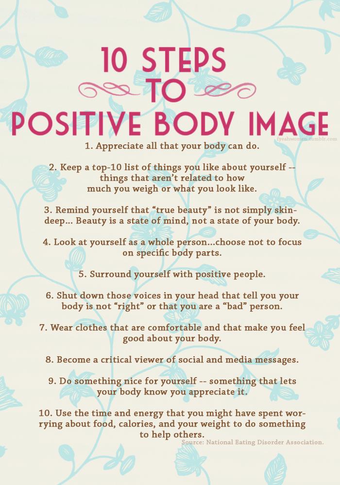 Body Acceptance: kézako? 10+steps+to+positive+body+image