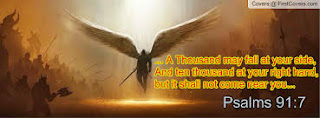 Psalm 91:7 - A thousand shall fall at your side, and ten thousand at your right hand; but it shall not come near you.