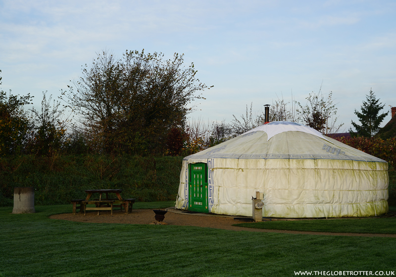 Caalm Camp Luxury Yurt Holiday in Dorset