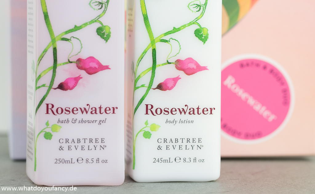 Muttertag Rosewater Bath & Body Duo Geschenkset