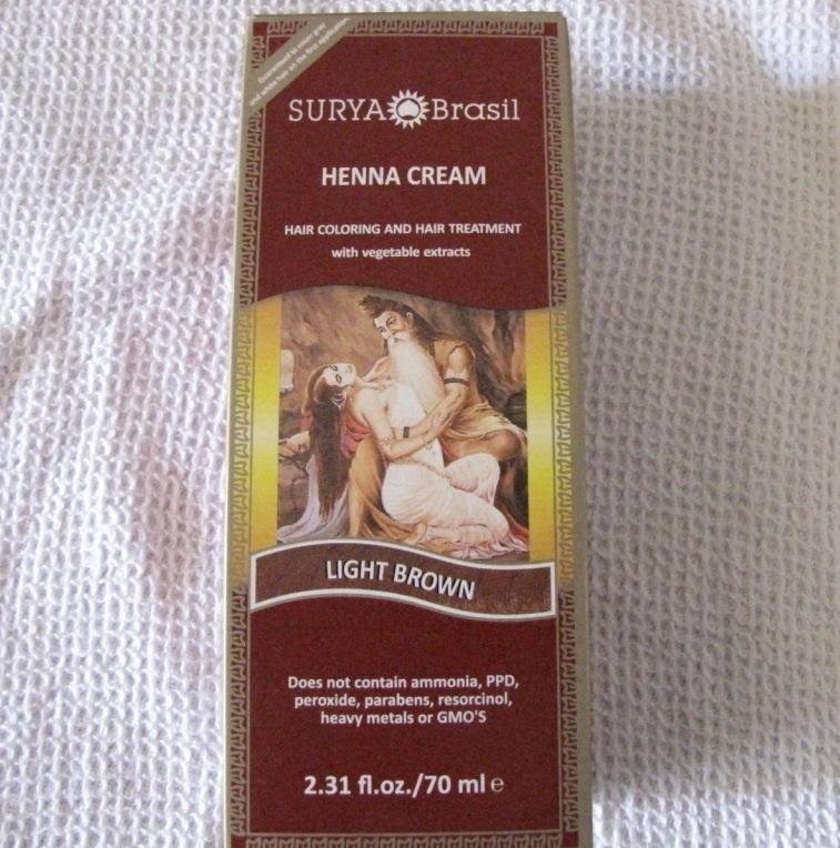 Surya Brasil Henna Cream Review Natural Hair