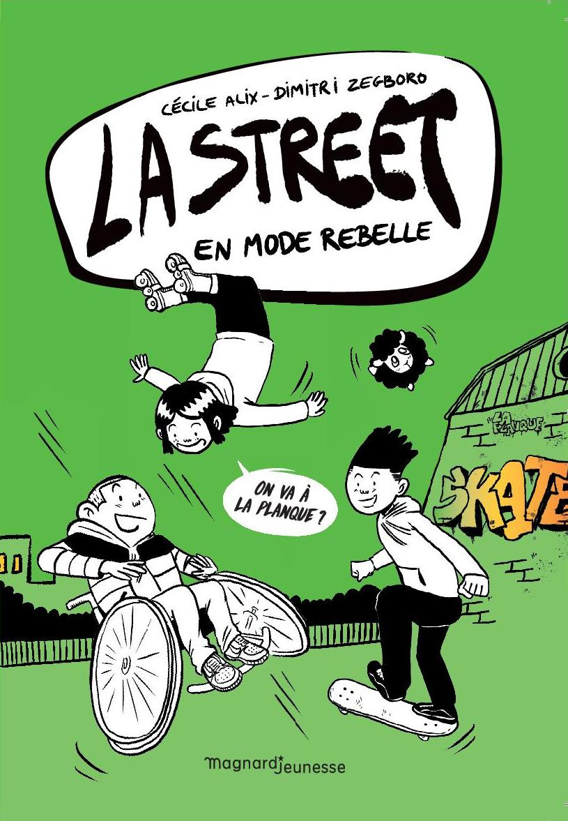 "LA STREET  "" EN MODE REBELLE"" - Roman graphique10-14"